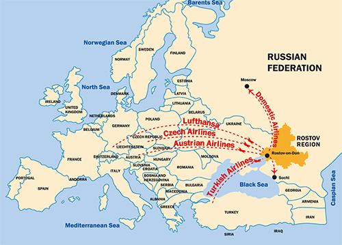 rostow am don karte Südrussland rostow am don karte
